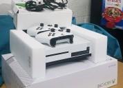 Xbox one 500gb + 7 juegos, 3 controladores