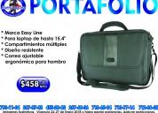"Portafolio easy line para laptop de 15.4"""