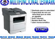 Multifuncional lexmark 417mxde
