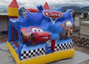 juego inflable de cars