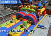 Interactivo de frozen inflable
