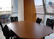 Renta de oficinas virtuales en 12 sucursales.