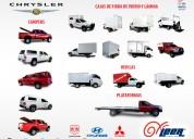 Campers y cajas de fibra de vidrio y aluminio para chrysler