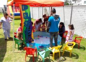 Capitas de juegos infantiles, fiestas infantiles
