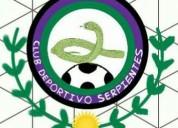 Visoría de jugadores para club deportivo serpientes (deportivo los galeana)
