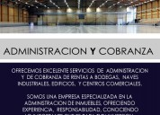 Servicios de administracion y cobranza