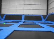Juegos modulares para cualquier tipo de espacio (jump parks, tirolesa, canopy, rappel, etc.)