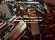 Compro desperdicio de machuelos de carburo de tungsteno en tampico