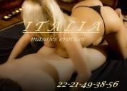 Italia-masajes  **22-21-49-38-56**  lujo y belleza