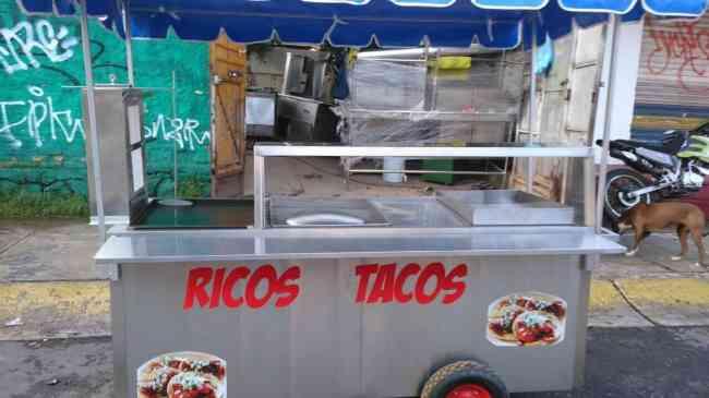 Carro para tacos (Nuevo)