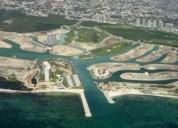 Lotes y terrenos en puerto cancun en cancún