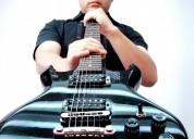 Clases de guitarra electrica y acustica para jovenes y adultos