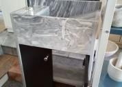 !!! muebles para baño con lavabo en marmol !!!