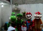 Corazones, botargas y personajes para entrega de regalos cdmx