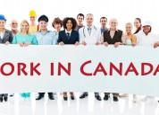 Trabajadores urgentes de ingeniería civil y construcción en canadÁ