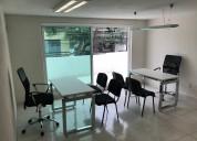 Renta de oficinas  en plaza mayor