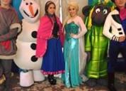 Show infantil de frozen en hidalgo para tu fiesta