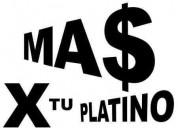 Compro platino al mejor precio garantizado