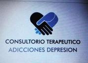 Consultorio terapeutico  en adicciones y depresion