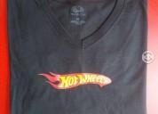 Camisetas  logotipo hotwheels