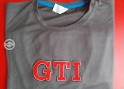 Camisetas logotipo gti