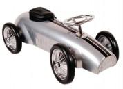 Auto de carreras clasico, montable, correpasillos