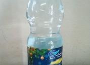 Botella de agua con publicidad para tu negocio.