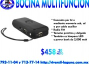 Bocina multifuncion easy line