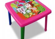 Mesa estampada infantil