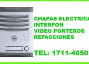 Interfonos con camara .reparaciones -5856-2169