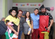 Animadores para baby shower marco yazz