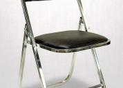 silla acojinadas para eventos