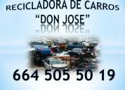 Don josÉ recicla tu auto al mejor precio con o sin papeles grus gratis cel6645055019