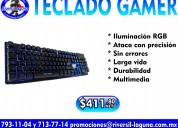 Teclado gamer vorago kb-502