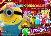 Payasos con personajes para tu fiesta - df y edome
