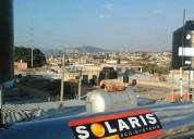 Calentador solar en acero inoxidable totalmente