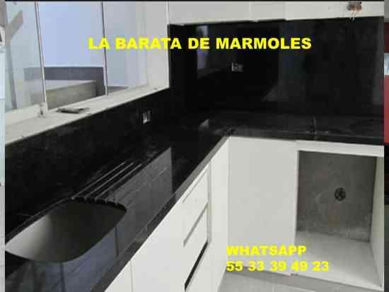 Cubiertas En Granito Negro San Gabriel Para Cocina Miguel Hidalgo
