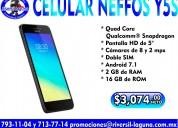 Celular neffos y5s