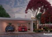 Casa en venta en merida yucatan cobkal privada botanico 4 habitaciones 330 m2