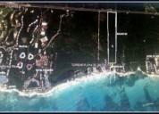 Terreno con playa privada en riviera maya 32457577 m2