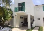 En venta hermosa casa de 3 recamaras en palma real playacar 3 dormitorios 260 m2