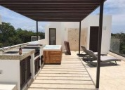 casa en renta en playa con alberca en bahia principe 4 dormitorios