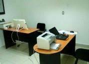 Oficinas amuebladas con acceso a sala de juntas