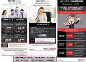 Axtel contrata plan empresarial sin plazo forzoso