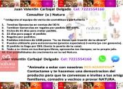 Empleo en ventas de productos de belleza (natura)