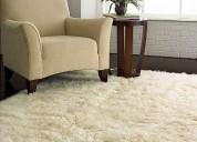 Limpieza de tapetes de seda, lana y sintéticos.