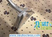 Desinfección de alfombras a domicilio.