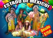 Fiesta con payasos! show familiar en tlalne! llama
