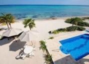 Pre venta magnifica casa con alberca frente al mar en sisal 2 dormitorios 900 m2