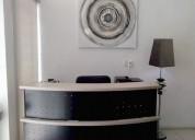 Oficina ejecutiva para dos personas